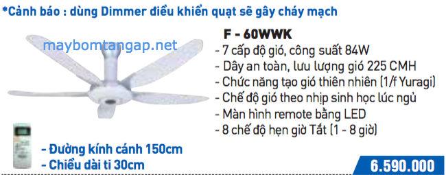 F-60WWK panasonic