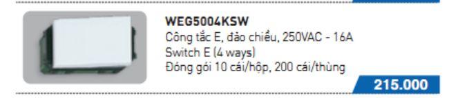WEG5004KSW